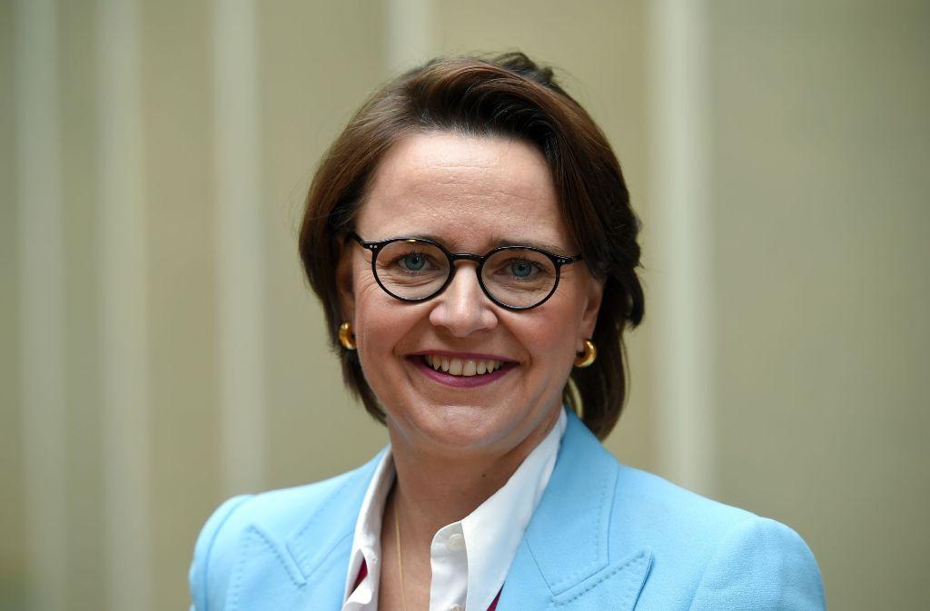 Die Vorsitzende der Frauen Union Annette Widmann-Mauz beklagt, dass im neuen Bundestag der Anteil der Frauen stark gesunken ist. Foto: dpa