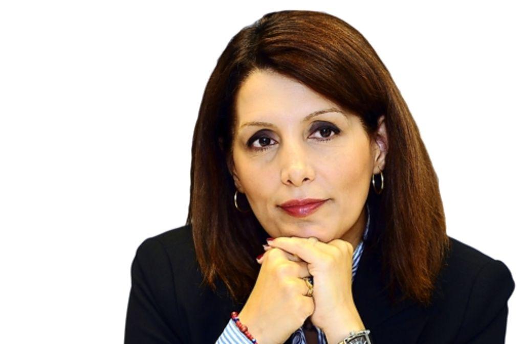 """Macht sich gerne """"vor Ort ein Bild"""": Integrationsministerin Bilkay Öney (SPD) Foto: StZ"""