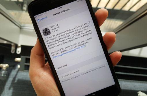 Apple veröffentlicht Akku-Kontrolle