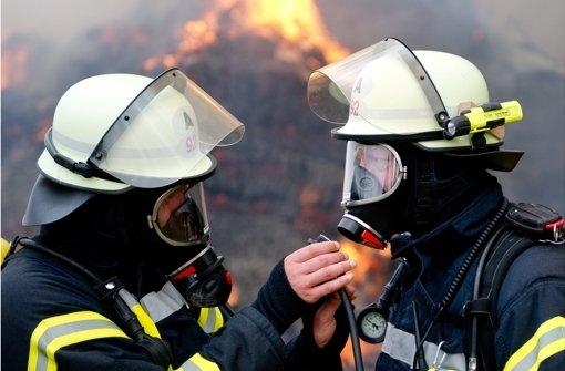 18. April: Brand in Großerlacher Sägewerk