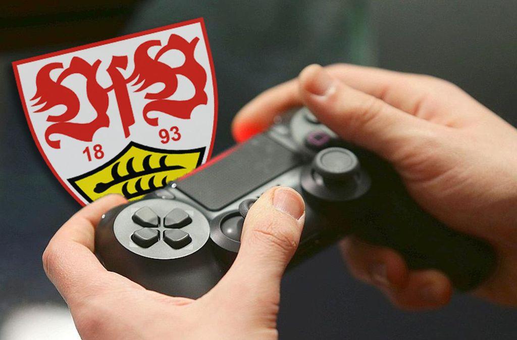 Die FIFA-Profis des VfB starten in die neue virtuelle Bundesliga-Saison. Foto: Baumann/Hansjürgen Britsch