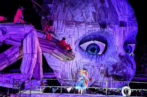 Die spektakulärsten Bühnenbilder der Bregenzer Festspiele