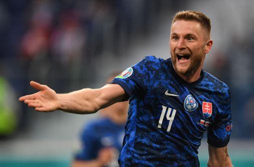 Milan Skriniar trifft zum Sieg – Robert Lewandowski blass