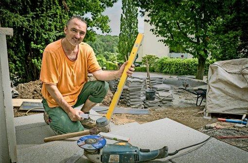 Schwitzen, filmen, Gärten bauen