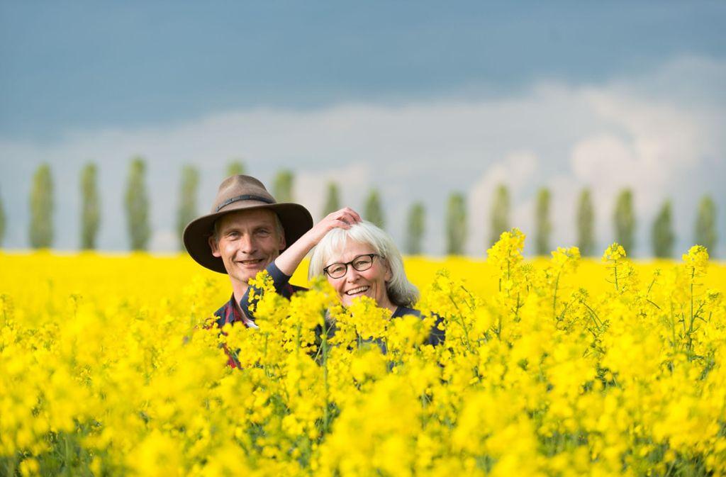 Olaf und Beate Hofmann haben vor sieben Jahren ihre Jobs gekündigt und sind ein Jahr durch  Kanada gereist. Kleine Auszeiten  nehmen sie sich bis heute. Foto: Stefan Weigand (z)