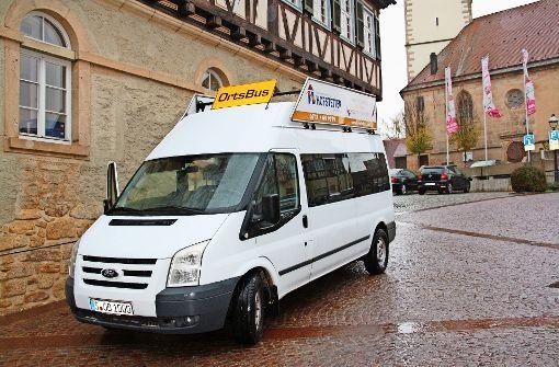 Der Bürgerbus soll am 1. März endlich fahren