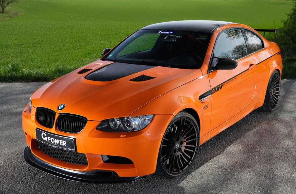 Die Täter sind auf den Diebstahl hochwertiger Karossen der Marke BMW spezialisiert gewesen. (Symbolbild) Foto: dpa