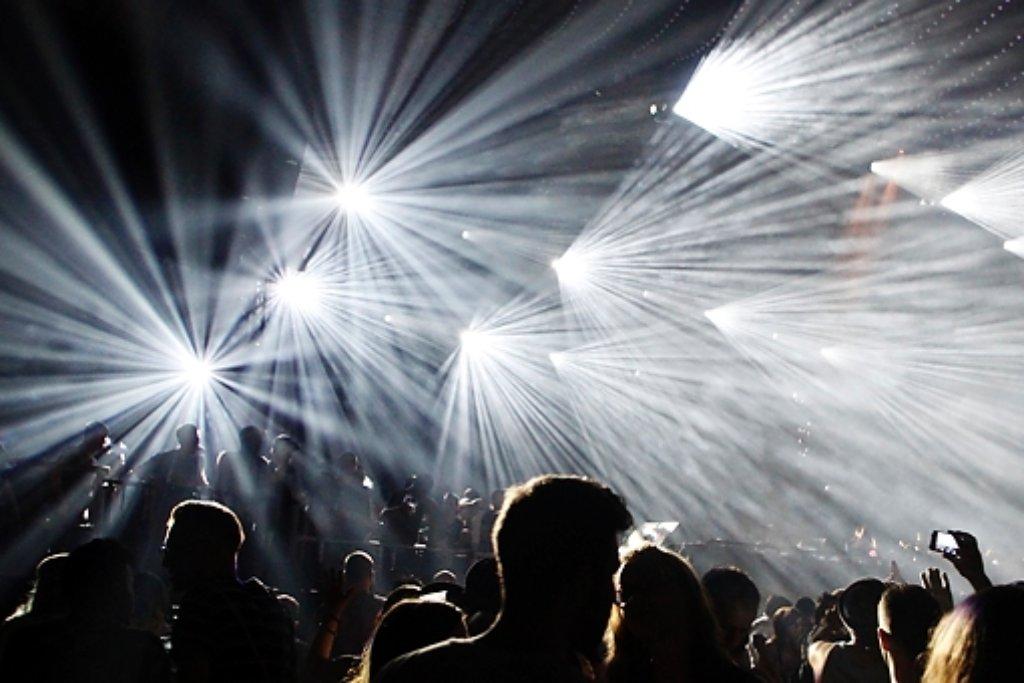 Die Polizei hat am Wochenende Besucher des Elektronik-Festivals SEMF in Leinfelden-Echterdingen unter anderem auf Drogen kontrolliert. Foto: 7aktuell.de | Daniel Jüptner