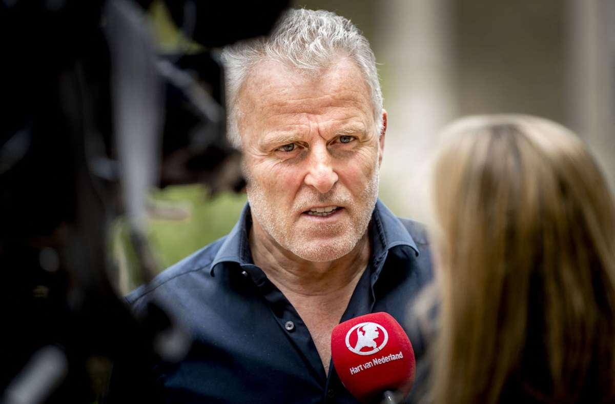 Peter R. de Vries war Anfang Juli niedergeschossen. Foto: AFP/REMKO DE WAAL