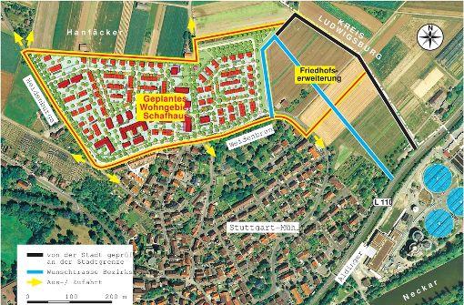 Kehrtwende: Bauen auf grüner Wiese geplant
