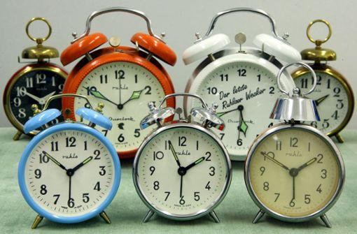 Am Wochenende werden die Uhren umgestellt