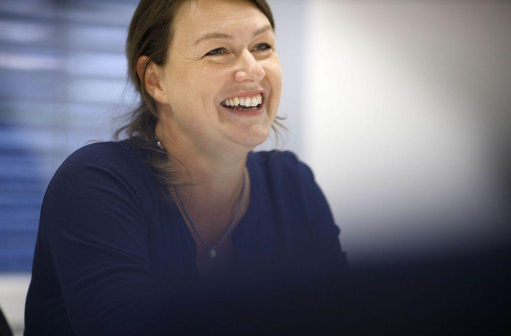 Schreiben, sagt Carolin Rebmann, setze Gedanken frei. Foto: Gottfried Stoppel