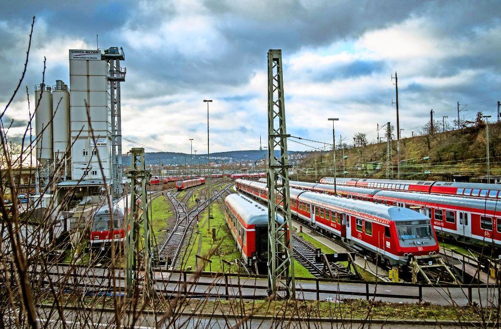 Wenn die alten Gleisanlagen weg sind, kann eine Fläche von 85 Hektar neu gestaltet werden. Foto: Lichtgut/Max Kovalenko