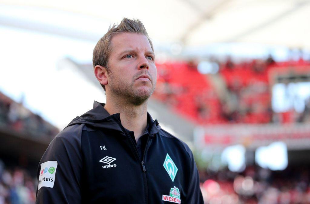 Guter Trainer, mittelmäßiger Kopfrechner – das ist Bremens Florian Kohlfeldt Foto: Baumann