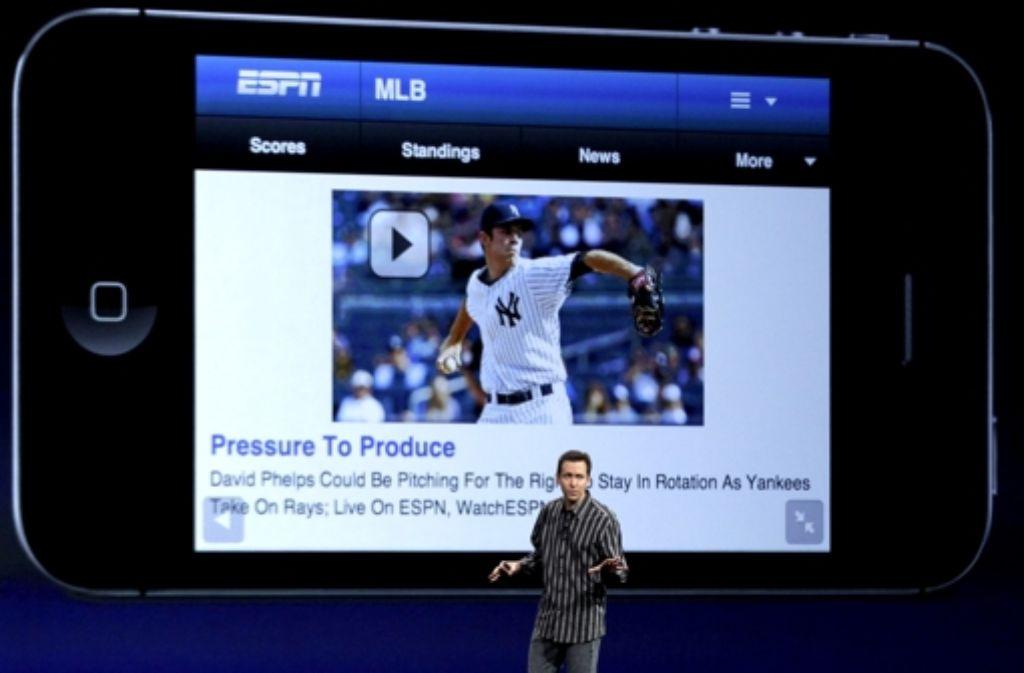 Auf dem iPhone lief Flash nicht, mit HTML 5 könnte es überflüssig werden. Foto: AP