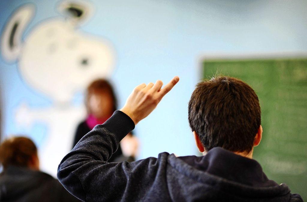 Die Herausforderungen an der Realschule sind gewaltig – nicht nur für Schüler. Foto: dpa