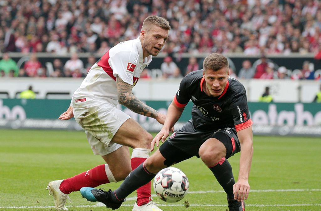 Remis für den VfB Stuttgart gegen den 1. FC Nürnberg. Unsere Redaktion hat die Leistung der VfB-Profis wie folgt bewertet. Foto: Pressefoto Baumann