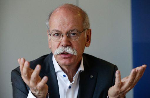 Zetsche als Acea-Präsident wiedergewählt