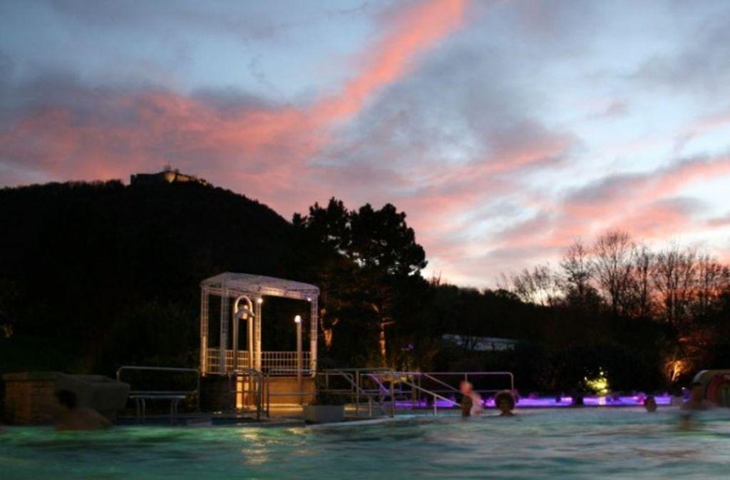 Das Thermalbad in Beuren gilt laut einem aktuellen Ranking als eines der beliebtesten in Deutschland. Foto: Stadt Beuren