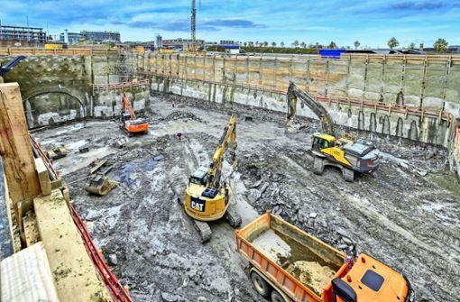 Webcams zeigen Fortschritt der Baustelle am Flughafen