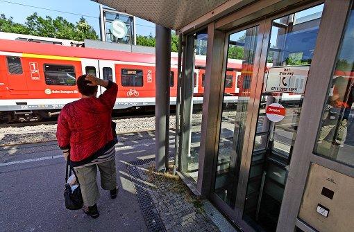 Hitze setzt Bahnhofsaufzug außer Gefecht
