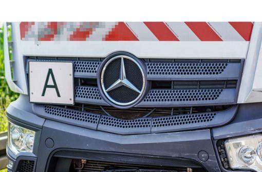 Warum ein Mülltransporter ein A-Schild braucht