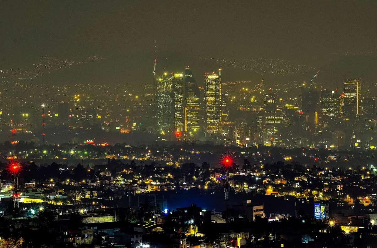 Mexiko Stadt. Foto: dpa/Arturo Monroy