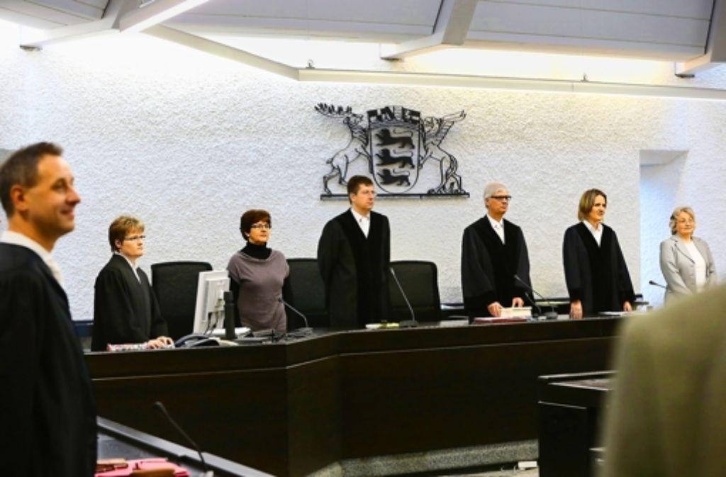 Das Urteil ist gesprochen: eineinhalb Jahr Haft zur Bewährung für Jörg K. Foto: Achim Zweygarth