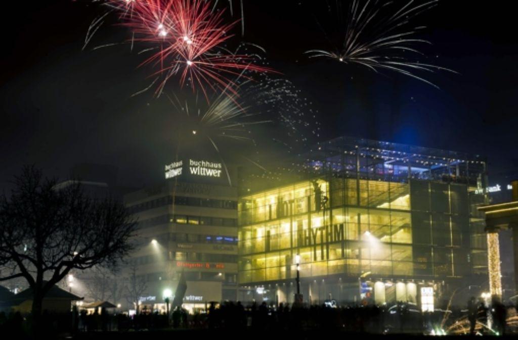 Auf dem Schlossplatz hat es in der Silvesternacht Übergriffe gegeben. Foto: Lichtgut/Max Kovalenko