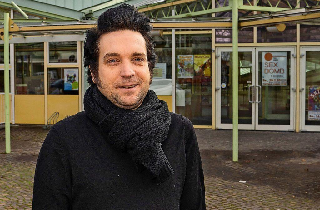 Neuer Schwung, nicht nur für die Stadthalle: Nils Straßburg. Foto: factum/Jürgen Bach