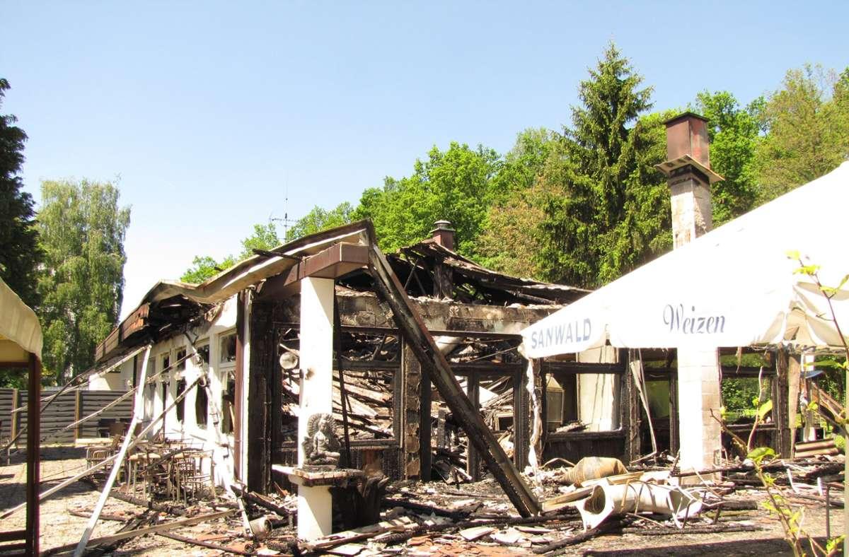 Die Ursache für den Brand 2017 ist nach wie vor ungeklärt. Foto: Archiv/Rüdiger Ott
