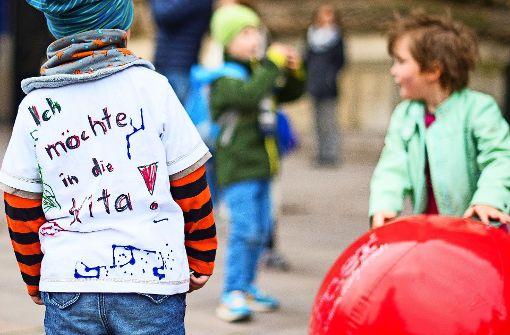 Bei der Kinderbetreuung herrscht weiter Druck im Kessel