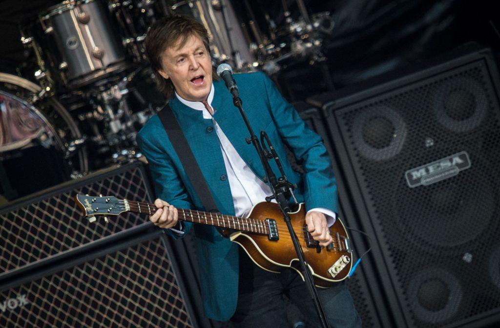Fit wie eh und je: der mittlerweile 76-jährigePaul McCartney Foto: dpa