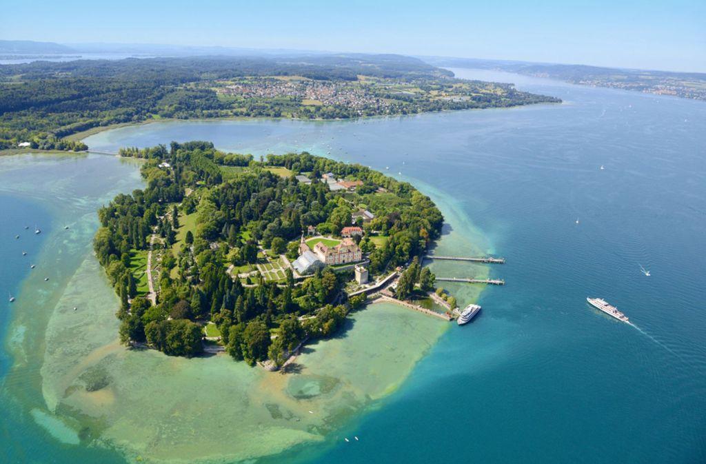 Auch die Insel Mainau im Bodensee schottet sich ab. Foto: Insel Mainau/Peter Allgaier Bodenseebilder