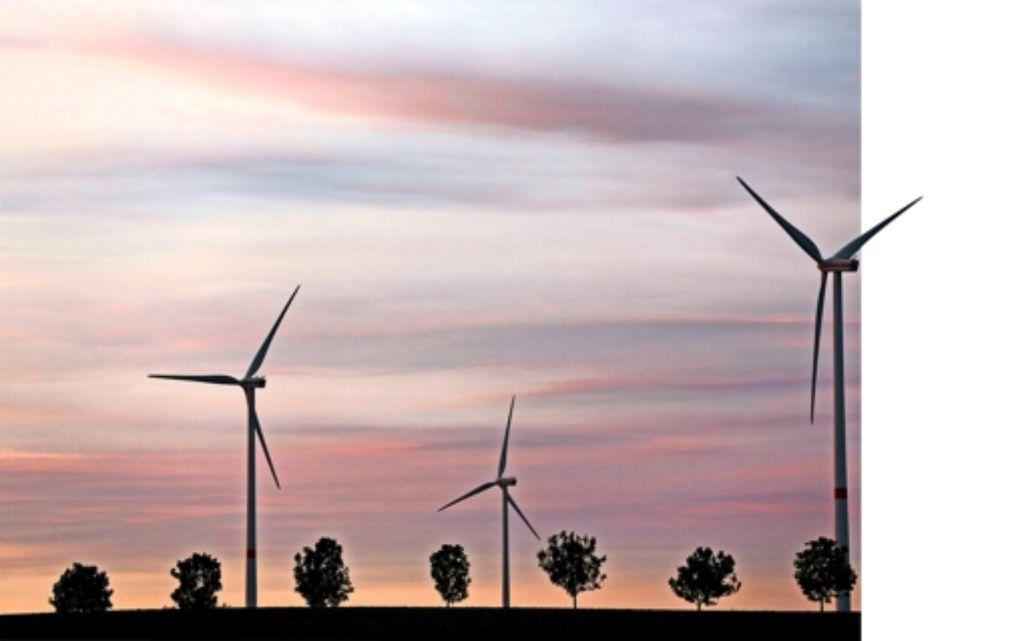 Vier Windkraftanlagen sollen nahe Unterberken  errichtet werden. Foto: dpa-Zentralbild
