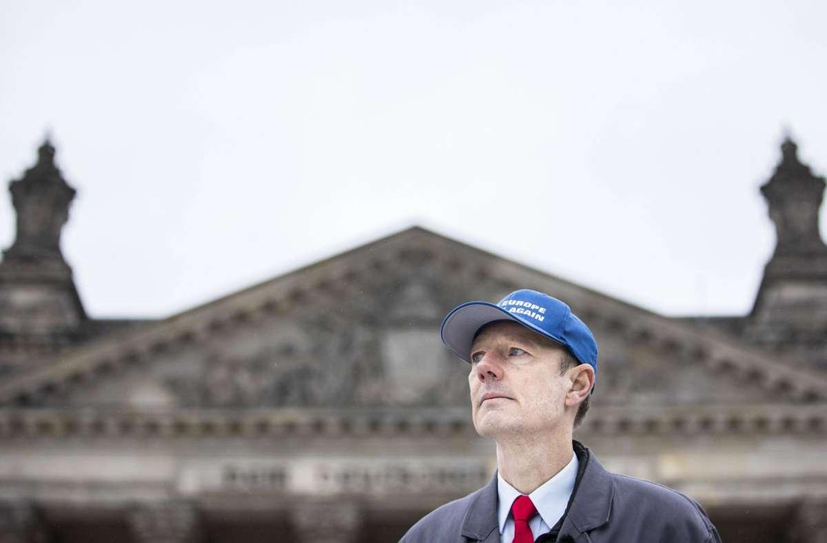 Zur nächsten Wahl kandidiert Martin Sonneborn für den Deutschen Bundestag. Er rechnet sich allerdings keine großen Chancen aus. Foto: imago//Florian Gaertner