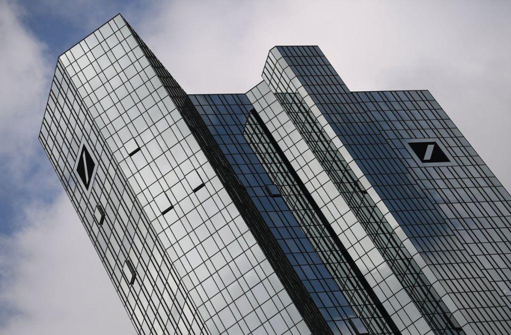 Die Deutsche Bank hat beim Stresstest als zweitschlechteste deutsche Bank abgeschnitten. Foto: dpa