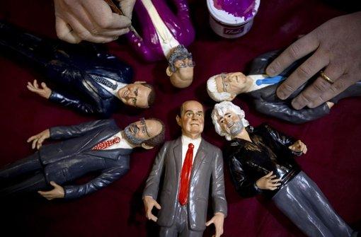 Mehrere Favoriten buhlen um die Stimmen der Italiener – auch Silvio Berlusconi. Foto: dpa