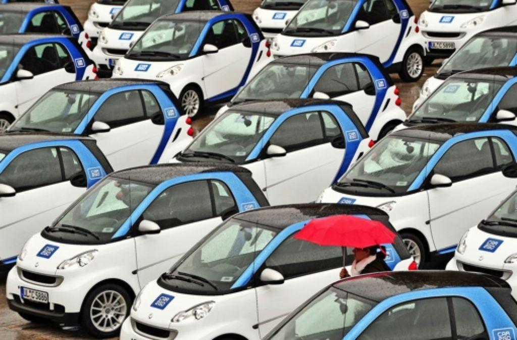 Carsharing-Angebote sind auch im Landkreis Böblingen auf dem Vormarsch. Foto: dpa