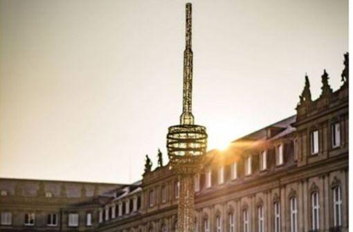 Schlossplatz  geht ein  Licht auf