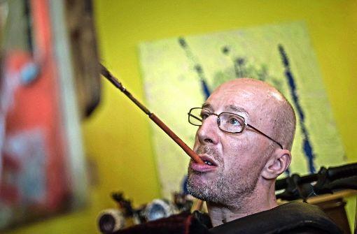 Der Zungenmaler aus Stuttgart