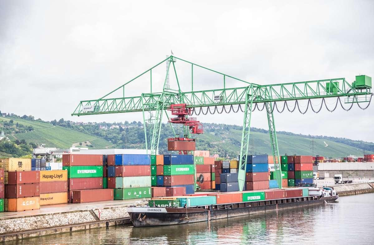 Am Stuttgarter Hafen (Symbolbild) Foto: Lichtgut/Julian Rettig/Lichtgut/Julian Rettig