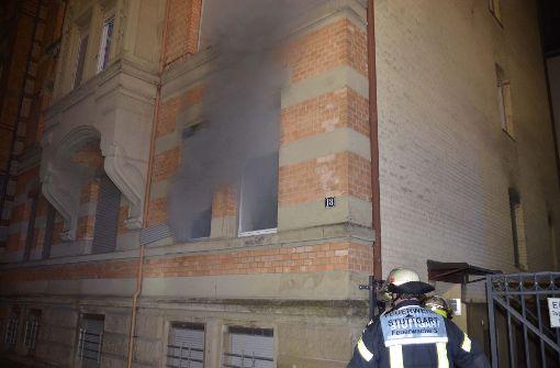 Wohnung nach Brand unbewohnbar