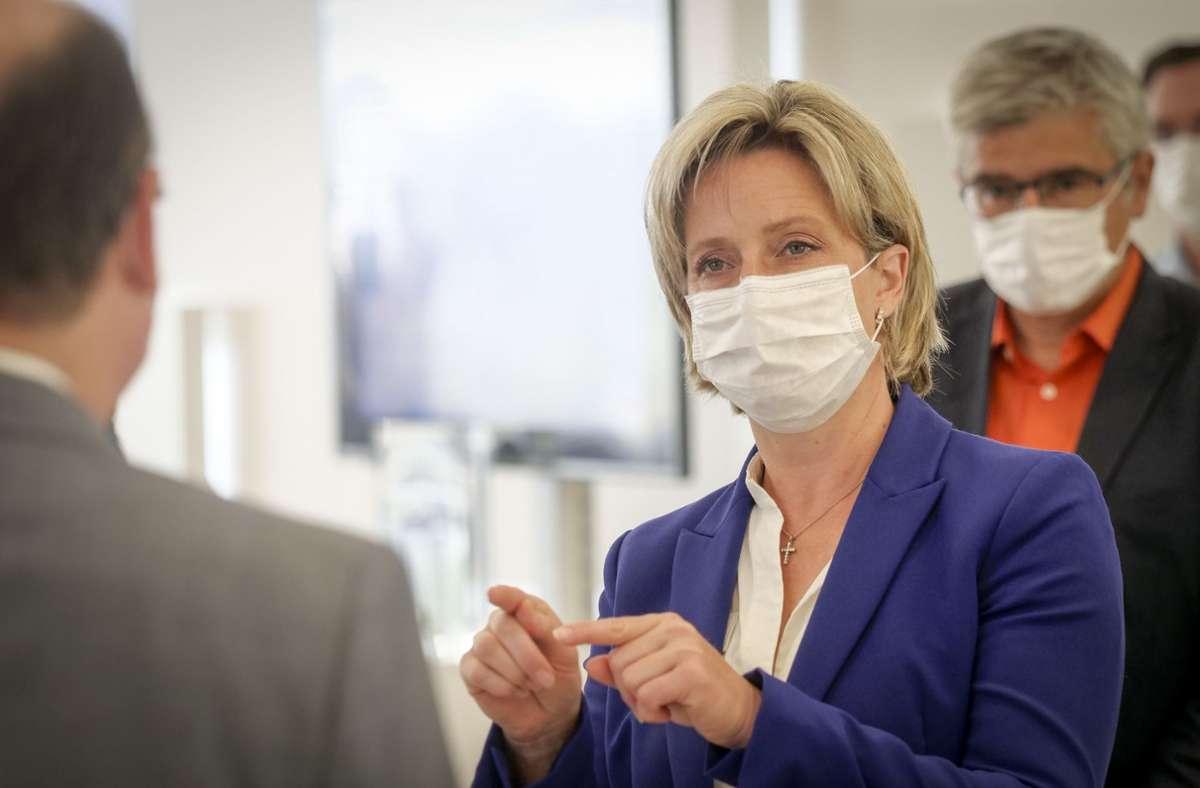 Nicole Hoffmeister-Kraut: keine Einigung mit Verbänden erzielt (Archivbild) Foto: factum/Simon Granville