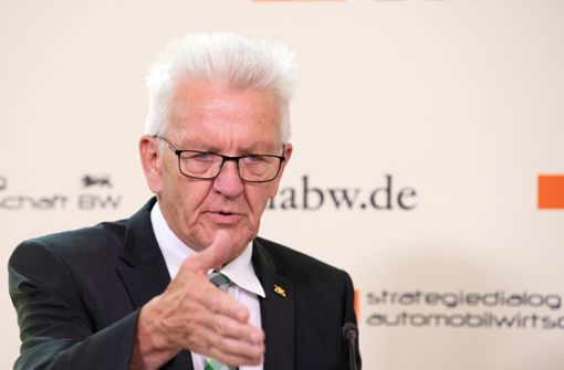 """Kretschmann lobt ihr """"starkes Bekenntnis"""" für Europa"""