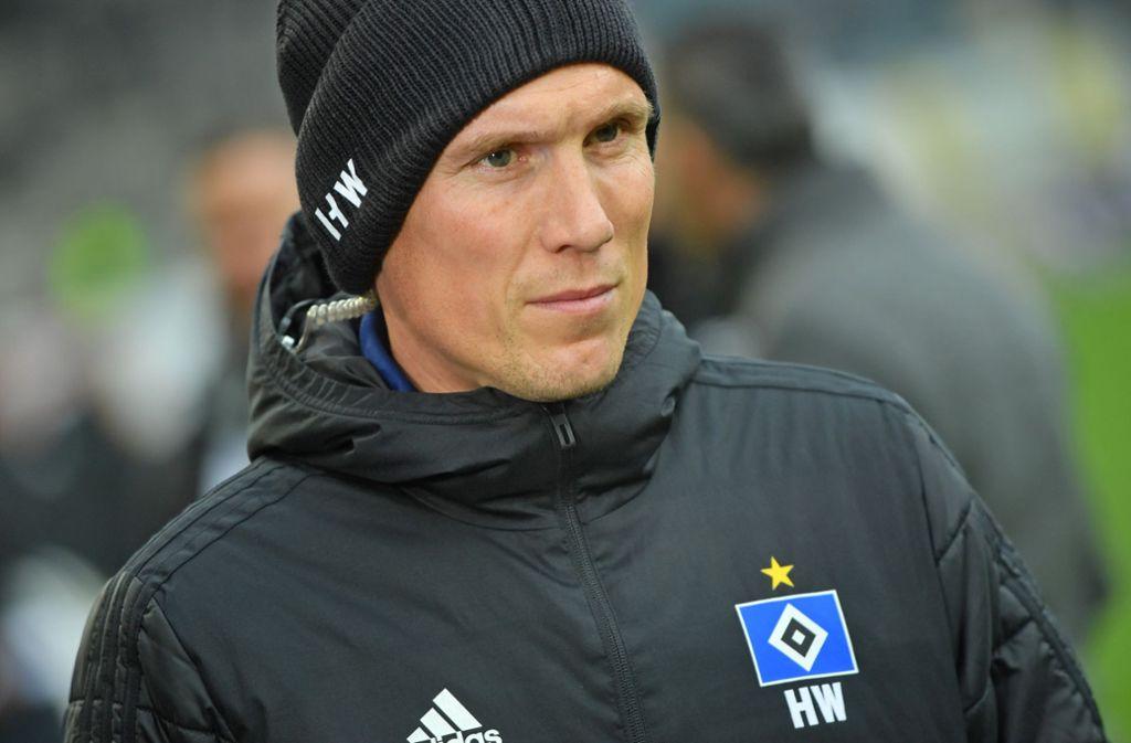 Hannes Wolf hat die Raute auf der Brust – zuvor war es das Vereinswappen des VfB Stuttgart. Foto: Getty