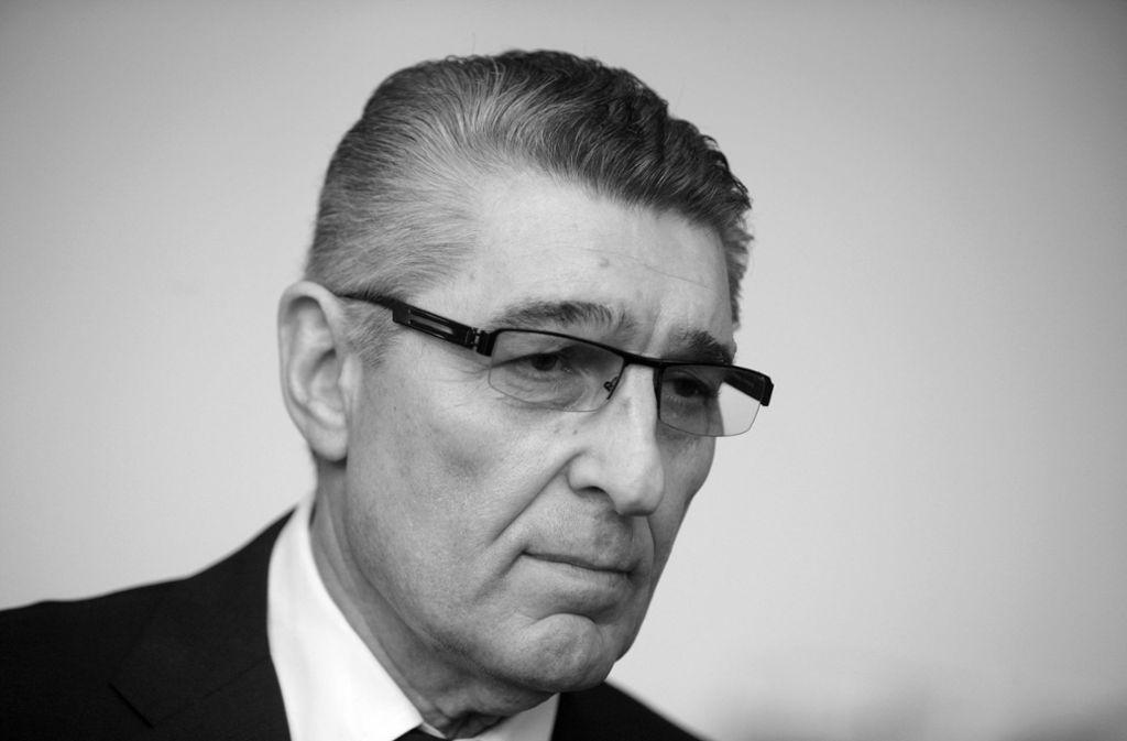 Rudi Assauer starb im Alter von 74 Jahren. Foto: dpa