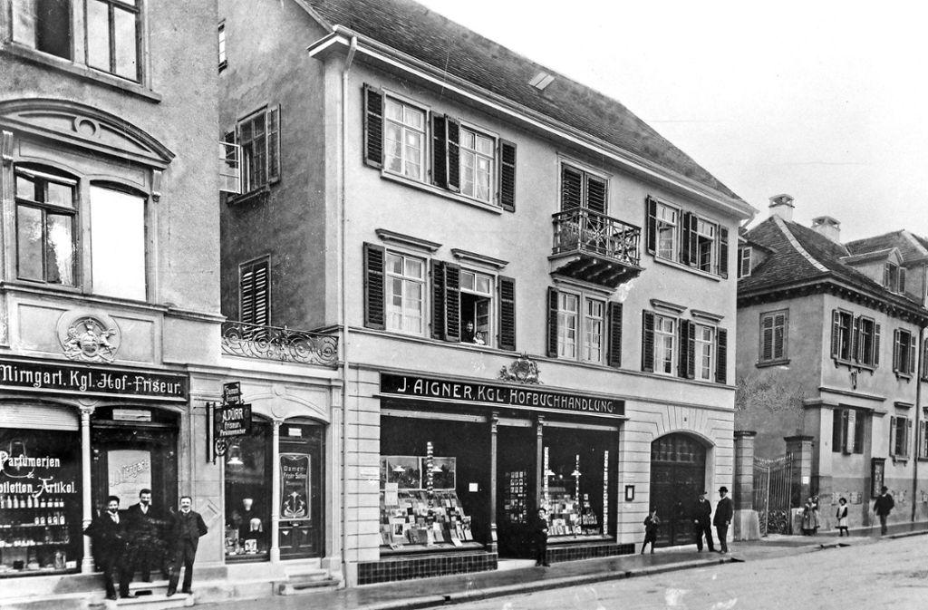 1906 zog Aigner an die Arsenalstraße. Foto: factum/Bach