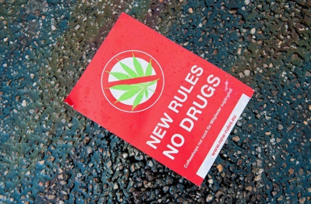 Neue Regeln: nur wer Niederländer und Mitglied ist, bekommt Marihuana. Foto: dapd