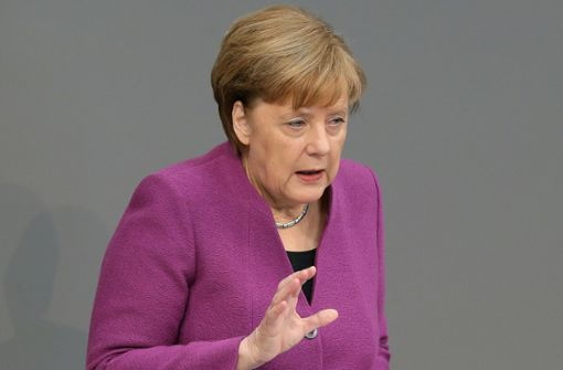 Merkels Kampfansage